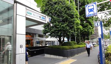 青山一丁目駅画像